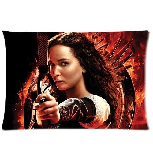 Hunger Games Custom Kissenbezug Bezüge Reißverschluss Kissen Kissen Fällen 20x 30(Zwei Seiten) von Film