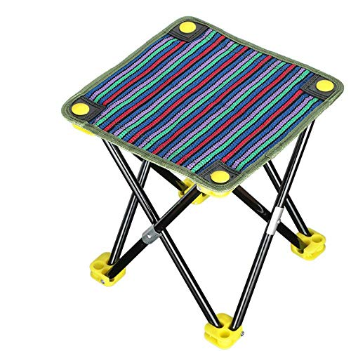 LIKEZZ Portable Klappstühle Picknick im Freien Camping Wandern Angeln Grill Garten Hocker Stuhl Sitz Großhandel Stativ Füße, 1 -
