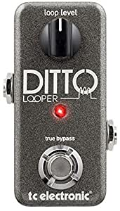 TC Electronic Guitar Pedal Ditto Looper 960801001