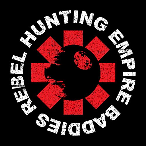 Star Wars Rogue One Rebel Hunting Chilli Peppers Logo Women's Sweatshirt Black