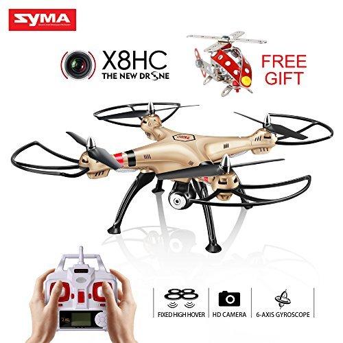 Syma X8HC Radiocomandati RC Quadcopter Drone Quadricottero Droni Con 2.0MP HD Fotocamera