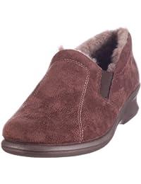 Rohde 2516 - Zapatillas de casa de ante para mujer