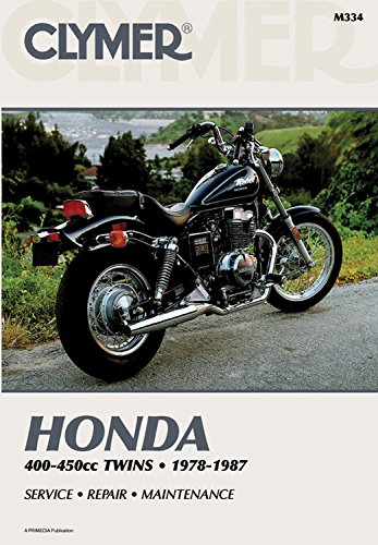 Honda 400-450Cc Twins 1978-1987: Service Repair Maintenance