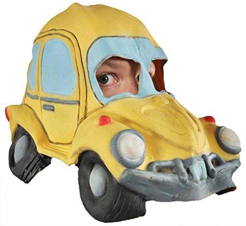 Halloween Kostüme Maske Gesicht Maske Kostüm Stütze Scary Creepy Schreckliche Maske Monster Maske Latex Maske Over-the-Head-Maske Love Bug Auto Maske für Maskerade Make-up (Love Bug Kostüme)