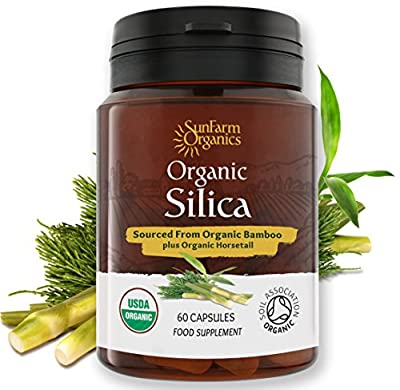 Organic Silica from Organic Bamboo and Organic Horsetail from Vitalize Foods Ltd