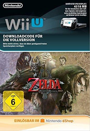 The Legend of Zelda: Twilight Princess HD [Wii U Download Code] (Hd Download)