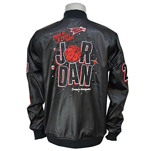 Jordan WB Marvin Bomber giacca da uomo Black / Red