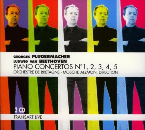 BEETHOVEN - 5 concertos pour piano