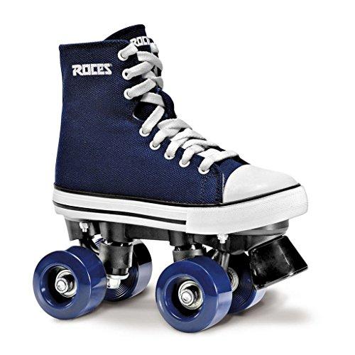 Roces 550030Modell Chuck Roller Skate, blau/weiß, 12usw, 10usm, 43EU, Gr. 43