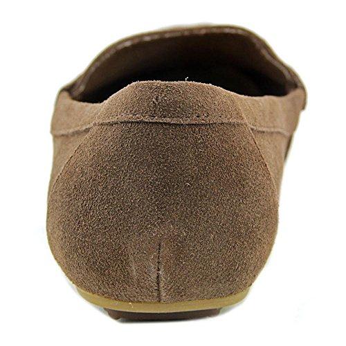 Isaac Mizrahi Annie Daim Mocassin Medium Brown