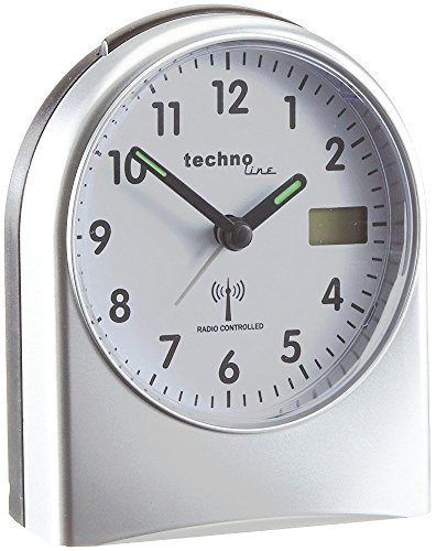 Technoline Analog Funkwecker mit LCD Anzeige für WT 755