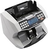 Olympia NC 590 Geldzähler (für Scheine, Echtheitsprüfung, Additionsfunktion, LCD-Display, Geldzähl-Maschine für Euro, Dollar, Pfund, Profi Geldscheinzähler mit Frontloader)