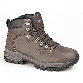 Johnscliffe Canyon Leather Hiking Boot Brown Crazy Horse Leather - Size 9 1