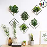 Kleine Größe Multifunktions Foto Display Metall Drahtgeflecht Grid Panel mit 20Bilderrahmen für Collage, Kunstwerke, Bilder aufhängen, Decor Clip–1Set 1Set