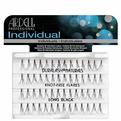 Ardell Wimpern (Ardell Individuals Long, das Original (Knot Free) black, 1er Pack (1 x 56 Stück))