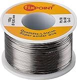 Fixpoint 51062 - Hilo de estaño para soldar (0,56 mm de diámetro, 100 g),...