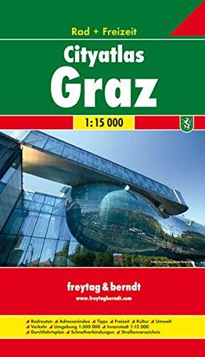 Graz City Atlas and Cycle Routes 2006 por Freytag-Berndt und Artaria KG