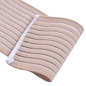 Zer one Verstellbarer Klettverschluss Ankle Wrap Strap Elastischer Knöchelverband Wrap Fußschutz Sport Kompression Knie Ellenbogen Handgelenk Knöchel