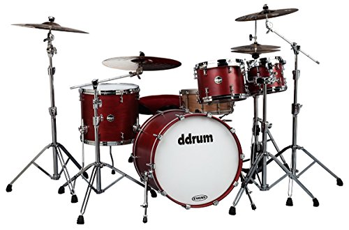 ddrum US STD 422 SR USA Maple Drum Set 4-teilig Satin Red