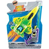 POOF-Slinky 2131BL POOF After Burner Foam Plane with Lights and Sound Effect Spring Launcher by Poof TOY (English Manual)