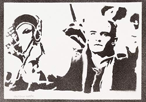 (Legolas Herr Der Ringe (The Lord Of The Rings) Poster Plakat Handmade Graffiti Street Art - Artwork)