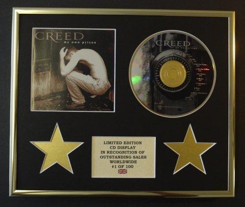 CREED/CD Display/Limitata Edizione/Certificato di autenticità/MY OWN PRISON
