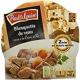 Paul & Louise Barquette Blanquette de Veau 300 g -