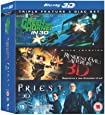 The Green Hornet / Resident Evil: Afterlife / Priest (Blu-ray 3D) [Region Free]