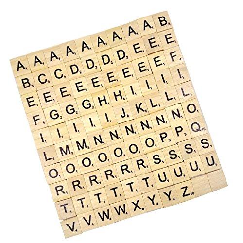 Generic - Lettres en Bois Puzzle Alphabets A à Z, 100...