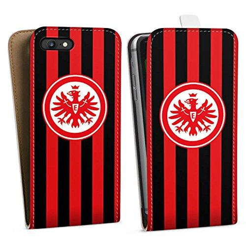 Apple iPhone 6 Hülle Case Handyhülle Eintracht Frankfurt Fanartikel SGE Downflip Tasche weiß