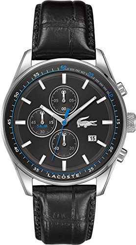 Lacoste Men's Watch Dublin Analogue Quartz Leather 2010784