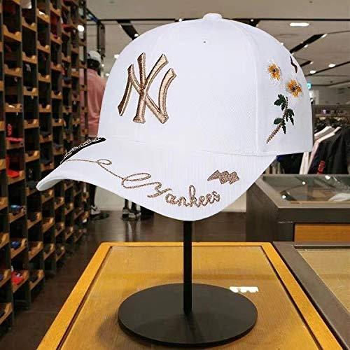 zhuzhuwen Baseball Cap Genuine Little Bee Bestickte Mütze Herren Yankees Hat 2 verstellbar (Versace-baseball-cap)