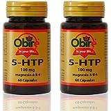 Triptofano (5 HTP 100 mg) + MAGNESIO + B6 60 cápsulas. (Pack