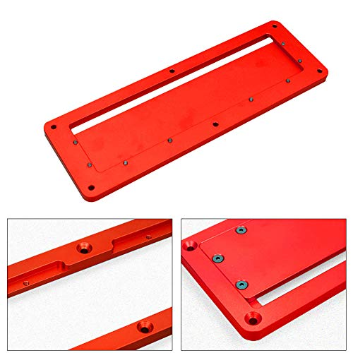housesweet Aluminiumlegierung Tischkreissägen Router Tische Zäune Elektrische Kreissäge DIY für Holzbearbeitungswerkzeuge