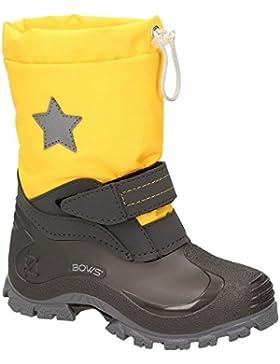 [Gesponsert]BOWS® -ROBIN- Jungen Mädchen Schuhe Kinder Schnee Winter Stiefel Winter Boots gefüttert wasserdicht wasserabweisend...