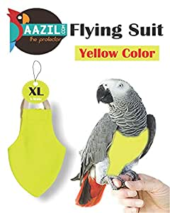 Aazil Flight Suit Bird Diaper 1-Piece (Size: Wide, Yellow)