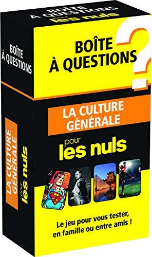 Boîte à questions La Culture générale pour les Nuls, éd 2016 par COLLECTIF
