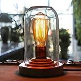 Best Bureaux en verre - OYGROUP Vintage loft Verre professionnel Lampes de bureau Review