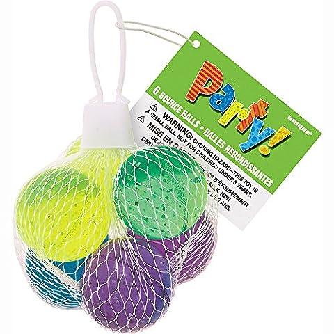 Balles Rebondissantes - Unique Party - 74058 - Paquet de