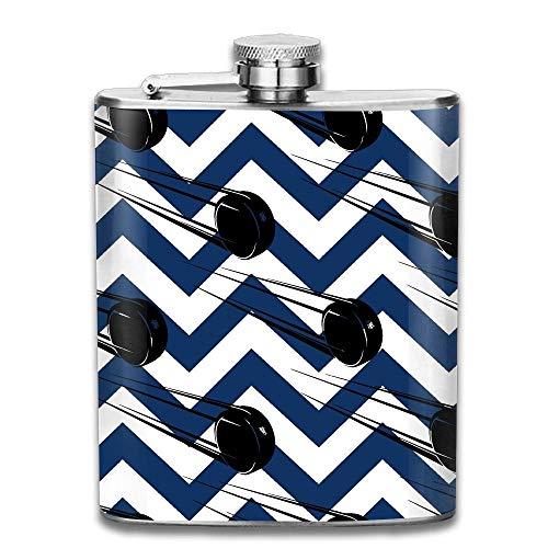travel flask Flyingice Hockey Pucks Portable Stainless Steel Flagon Liquor Flask