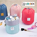 #4: BEST DEALS - Multifunction Travel Cosmetic Bag Makeup Case Pouch Toiletry Organizer Handle Large Cosmetic Bag (Assorted Color)