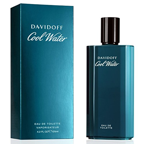 Davidoff Cool Water homme / men, Eau de Toilette, Vaporisateur / Spray, 125 ml