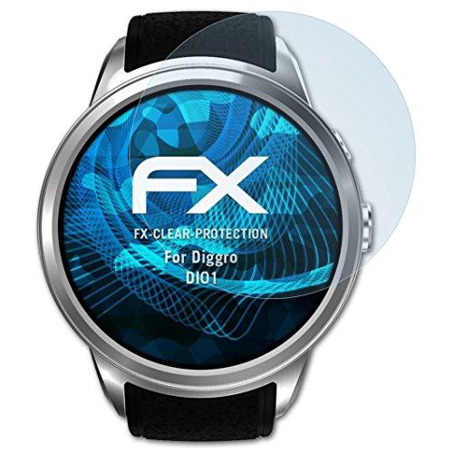 atFoliX Protezione Pellicola dello Schermo compatibile con Diggro DI01 Pellicola Protettiva, ultra-trasparente FX Proteggi Schermo...
