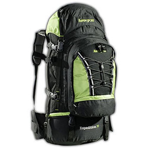 AspenSport Rucksack Expedition schwarz/Grün, 50 x 38 x 23 cm