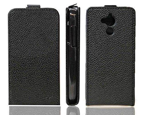 caseroxx Hülle/Tasche Flip Cover passend für Acer Liquid Z410 / Z410 Plus, Schutzhülle (Handytasche klappbar in schwarz)