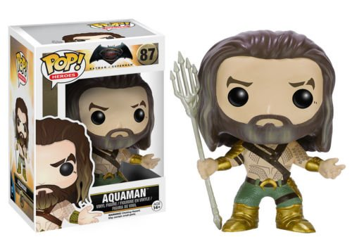 Funko Pop Heroes Batman Vs Superman: Aquaman Vinyl Collectible Action Figure 87