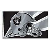 NFL Oakland Raiders 3-by-5-foot Flagge