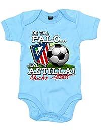 Body bebé de tal palo tal astilla Atlético de Madrid mucho Atleti