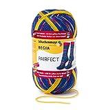 REGIA 4-fädig Pairfect 9801613-07125 candy Handstrickgarn, Sockengarn, Identische Sockenstricken, 100g Knäuel