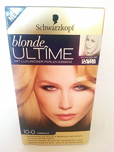 3 x Schwarzkopf Blonde Ultime 10–0 Blond Clair (100ml/9,47 & # x20ac ;)